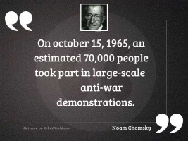On October 15, 1965, an