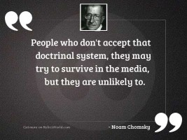 People who don't accept