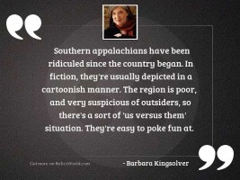 Southern Appalachians have been ridiculed