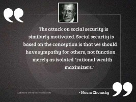 The attack on Social Security