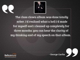 The Class Clown album was