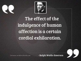 The effect of the indulgence