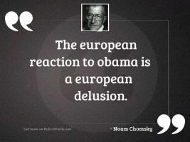 The European reaction to Obama