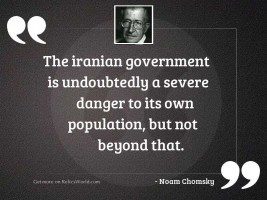 The Iranian government is undoubtedly