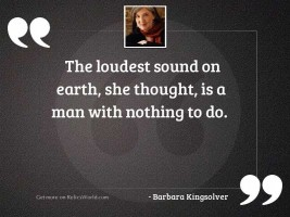 The loudest sound on earth,