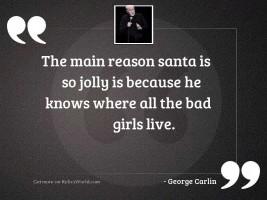 The main reason Santa is