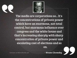 The Media are corporations so...