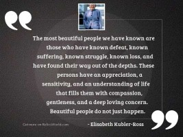 The most beautiful people we