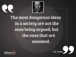 The most dangerous ideas in