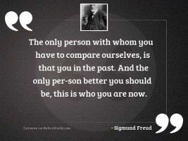 The only person with whom