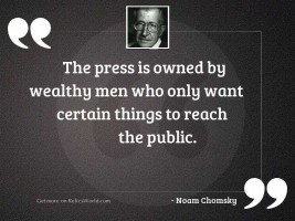The press is owned by