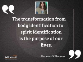 The transformation from body identification