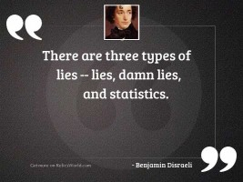 There are three types of