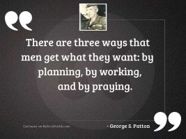 There are three ways that
