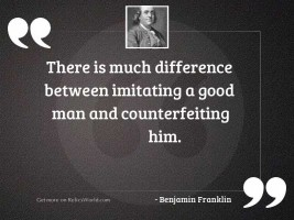 There is much difference between