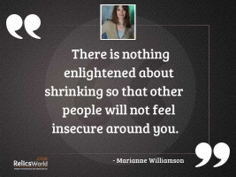 quotes about being insecure