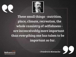 These small things   nutrition place