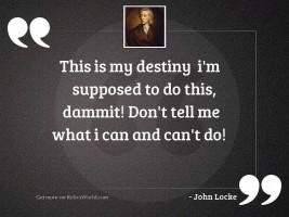 My Destiny Quotes Relicsworld