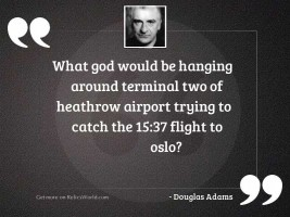 What god would be hanging