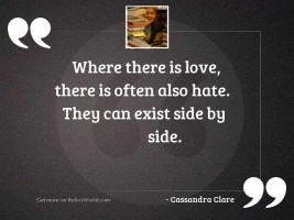 Where there is love, there