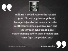 William R. Polk discusses the