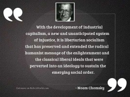 With the development of industrial