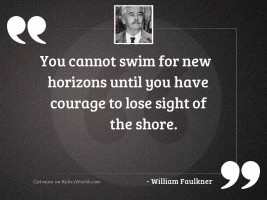 You cannot swim for new
