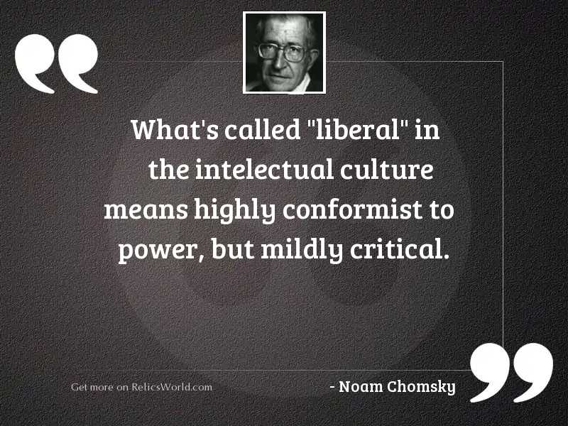 What's called  liberal  in