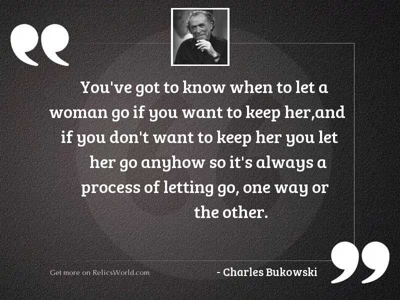 Youve got to know when... | Inspirational Quote by Charles ...